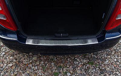 Ladekantenschutz für Mercedes A-Klasse W169 FL Limousine 2004-2008 Edelstahl
