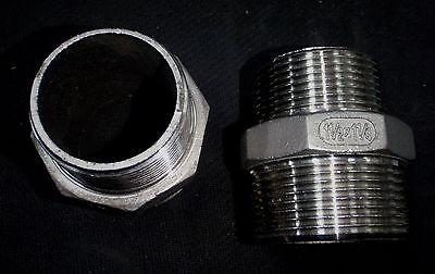 Stainless Steel Reducer Nipple 1 12 X 1 14 Npt Pipe Rn-150-125