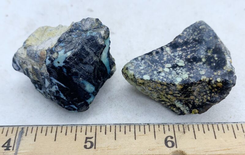 Amazing New Lander Natural Turquoise Rough Nugget 24-9