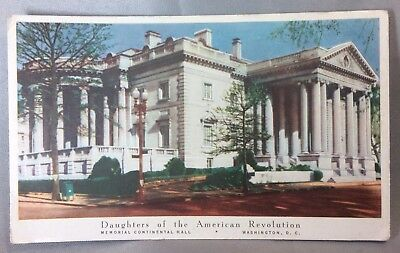 DAUGHTERS AMERICAN REVOLUTION Washington DC Advertising Ink Blotter Vintage DAR