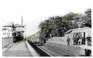 Aycliffe Railway Station Photo. Darlington - Bradbury. Durham Line