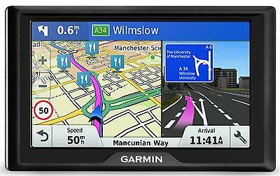 Garmin Drive 50 LM Sat Nav GPS UK ROI Ireland Lifetime Map Maps Navigation