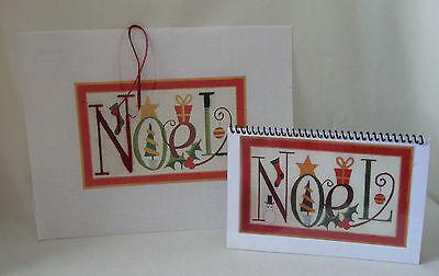 Handpainted Needlepoint Canvas Raymond Crawford Noel + Stitch Guide HO-126