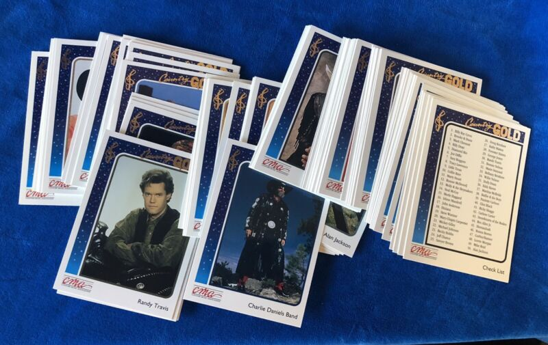 1992 Country Gold (Almost Complete Set) 98 of 100 Cards CMA Licensed Sterling