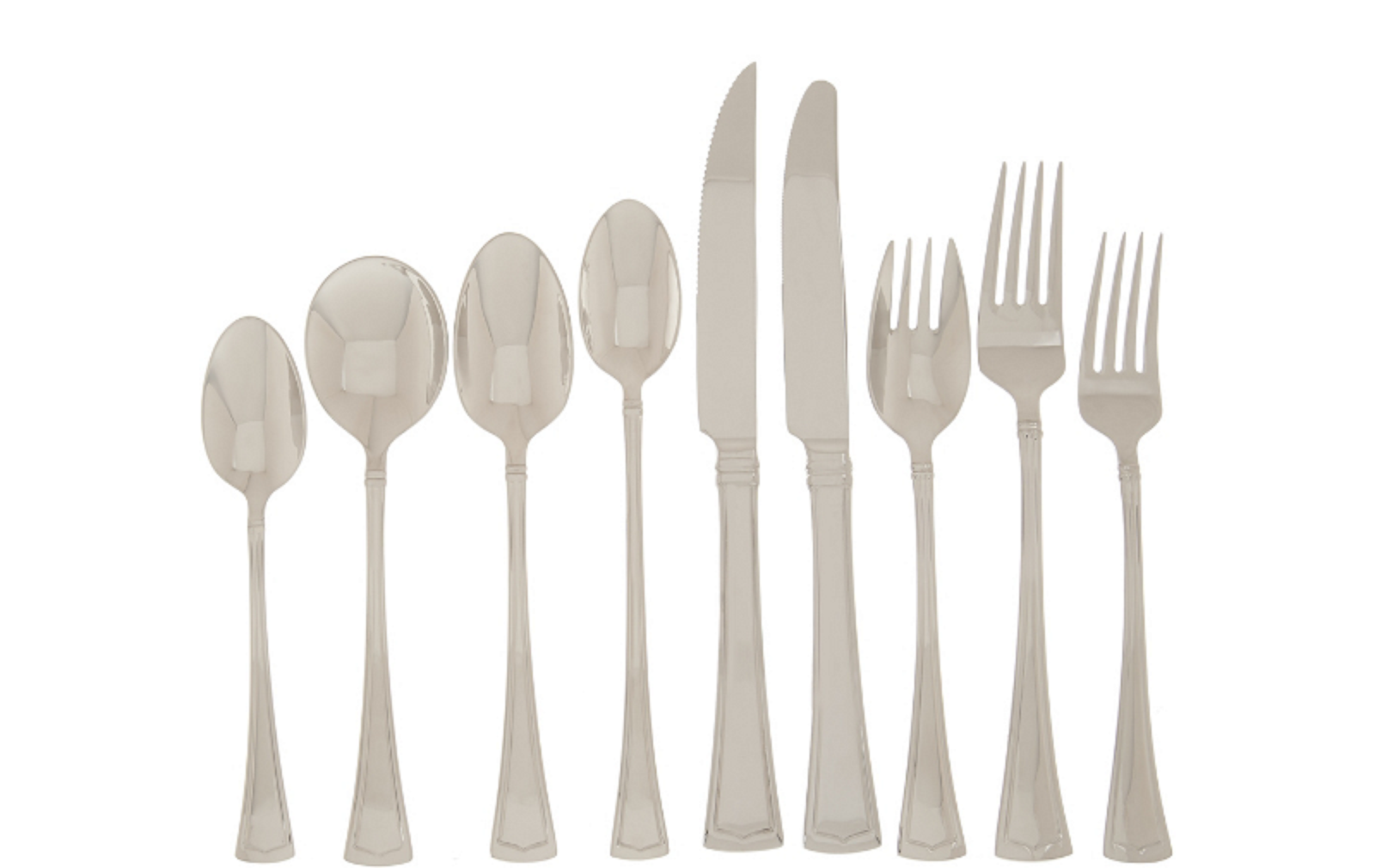 Lenox Fonthill 112 Piece Flatware Set Service For 12 Stainle