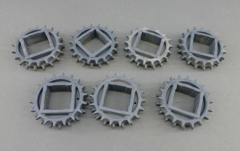 "*Lot of 7* Intralox S1100 Sprockets, 18 Teeth, 3.5"" - NEW Surplus!"