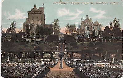 Drummond Castle From Gardens, Nr CRIEFF, Perthshire