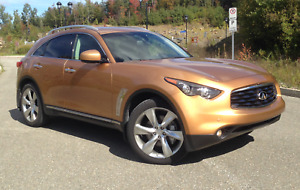 Infiniti FX 50S 2009 low mileage AWD summer car + Carproof