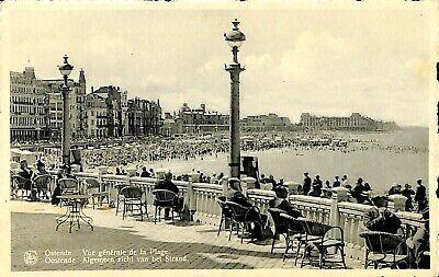 CPA - Belgique - Oostende - Ostende - vue générale de la plage