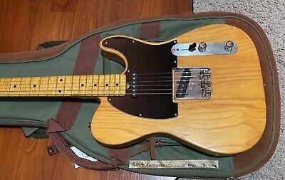 Guitar Doc Butterscotch Tele Fender Stamped Bridge / Pickups Birdseye Maple Neck