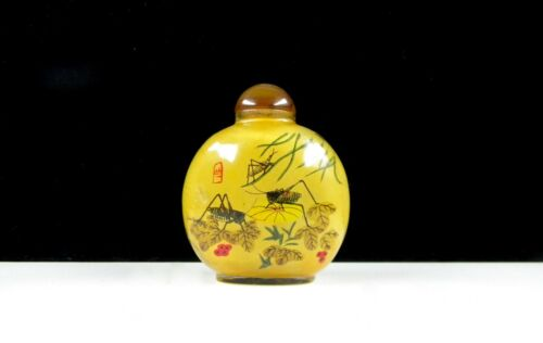 Asian snuff bottle.