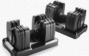 New in box Bowflex 560 Dumbbells and Stand