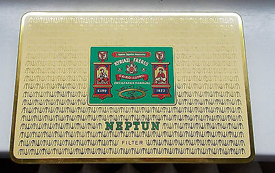 Alte Zigarettendose NEPTUN 50 Cigaretten Kyriazi Freres  Top erhalten