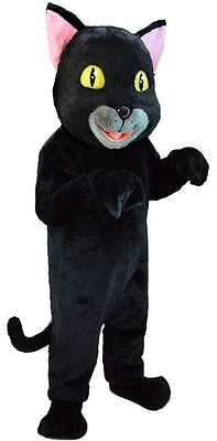 Black Cat Professional Quality Lightweight Mascot Costume Adult Size