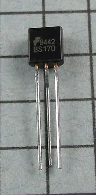 Bs170 N-channel Mosfet To-92 5pcs Per Lot