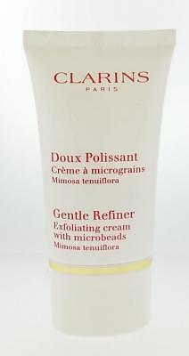 Clarins Paris Gentle Refiner Exfoliating Cream w/ Microbeads 15ml. 0.5oz. Sealed