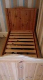Wooden cot/cotbed