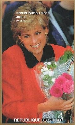 LADY DIANA PRINCESS OF WALES IMPERFORATED 1997 MNH STAMP SHEETLET