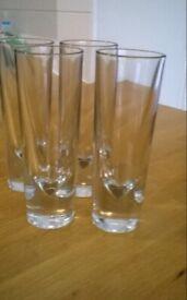 4 Tall Habitat Glasses
