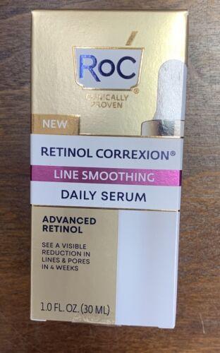 RoC Retinol Correxion Line Smoothing Daily Serum, 1 OZ - New