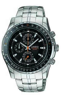 Black Bezel Watch - Casio Men's Quartz Black Slide Rule Bezel Silver-Tone 40mm Watch MTP4500D-1AV