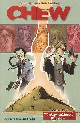 Chew Tpb Vol 2 International Flavor Reps  6 10 Mint Unread