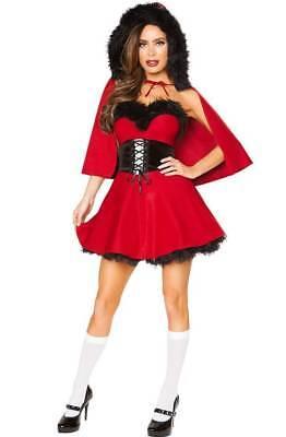 Kostüm Little Red Riding Hood Rot Geschichte Märchen Kostüme Karneval Halloween