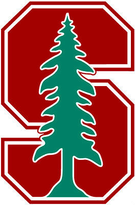Stanford Cardinal Ncaa Color Die Cut Decal   Car Sticker  Free Shipping