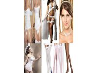 wedding day and night accesories stockings from £3.99