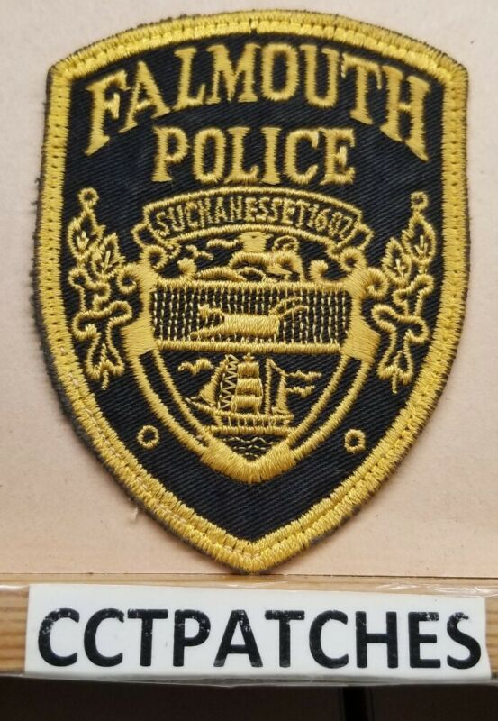 FALMOUTH, MASSACHUSETTS POLICE SHOULDER PATCH MA