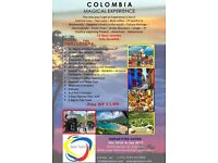 """Scape the winter, come and join me """"Colombia Magical Experience Tour"""""""
