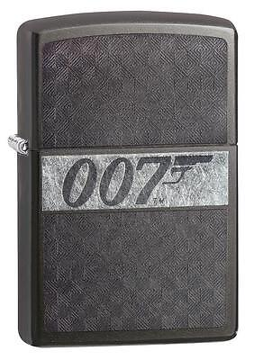 Zippo Lighter Laser (Zippo Windproof James Bond 007 Lighter, Laser Engraved, 29564, New In)