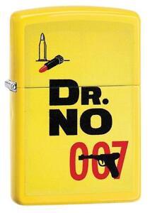 Zippo Windproof James Bond 007, Dr. No Lighter, 29565, New In Box