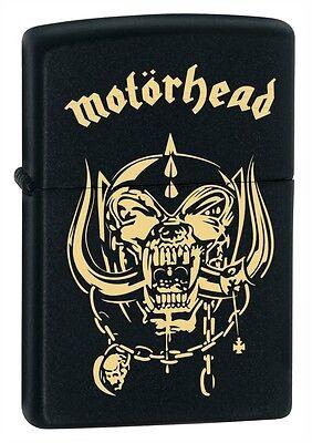 Rare Motörhead Zippo Lighter Lemmy  Engraved Heavy Metal Cd Lp