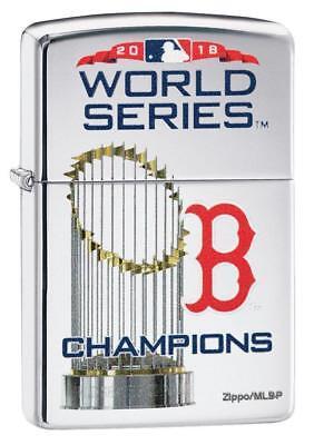 Boston Red Sox Zippo Lighter (BOSTON RED SOX WORLD SERIES CHAMPIONS 2018 MLB ZIPPO LIGHTER MINT IN)