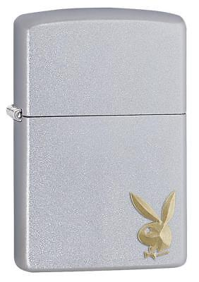 Zippo Windproof  Playboy Lighter With Engraved Playboy Bunny, 29603, New In Box