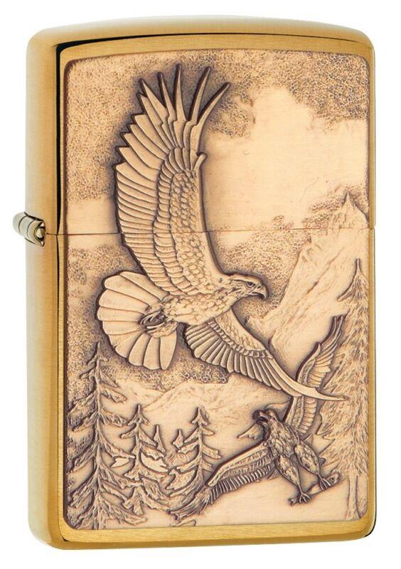 Zippo Soaring Eagles Windproof Pocket Lighter, 20854