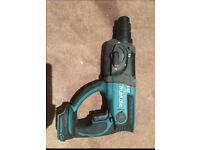 Makita 18v SDS Drill model number DHR202