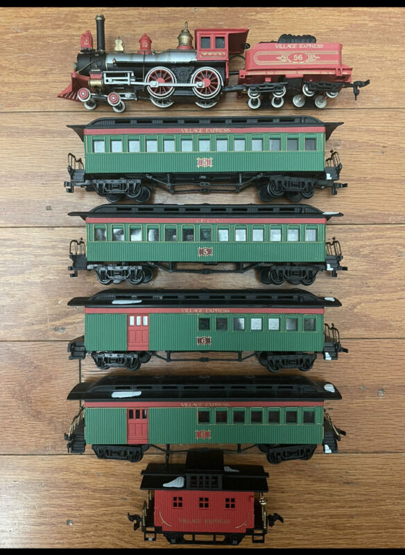 Bachmann Heritage Village Collection Express HO Scale Train Set