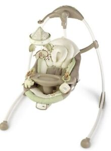 Bright starts baby swing cradle and sway ingenuity Shiloh
