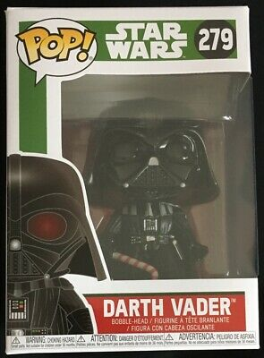 Funko Pop Star Wars Darth Vader Candy Cane Christmas Figure #279