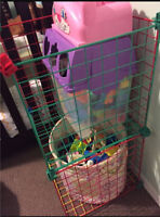 Toy room shelving