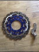 Oversized brake rotor and adaptor Yamaha WR450 motard Como South Perth Area Preview