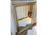 Antique Gold Large Heavy Weight Mirror