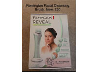 Remington Reveal Facial Cleansing Brush, Brand new and sealed, Greylees