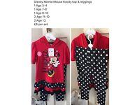 Disney Minnie Mouse Hoody and Leggings set