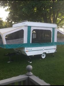 Starcraft meteorite 8 foot camper with add on room