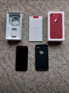 iPhone 8 Red brand new condition limited edition
