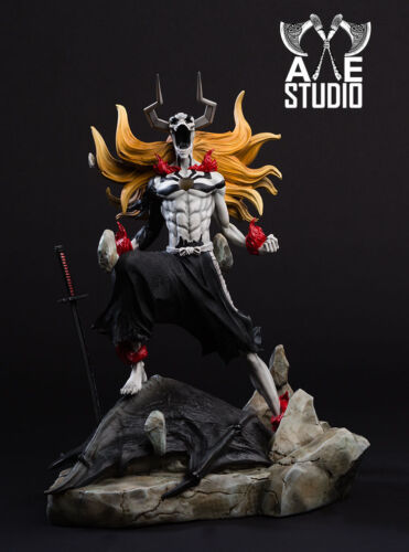 Axe Bleach 1 5 Kurosaki Ichigo GK Resin Figure Battle Diorama Statue In Stock