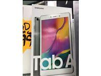 Samsung tab A brand new box warranty WiFi cellular open on all sim